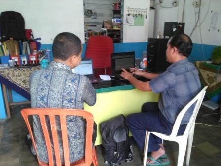Web baru SMA PGRI 6 Padang